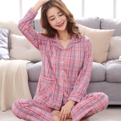 0cb76df60c MH-RITA New Winter Pijamas Mujer Cotton Lady Women Pajamas Sets Floral  Pyjamas Pocket Femme