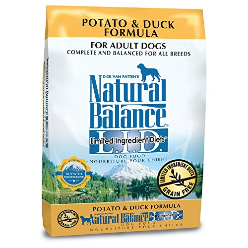 Natural Balance L.I.D. Limited Ingredient Diets Dry Dog Food, Grain Free, Potato & Duck Formula, (Dog Boutique Online)