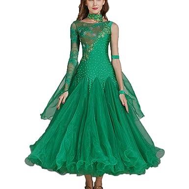 Traje de Baile para Mujer Vestido de Baile de salón estándar ...