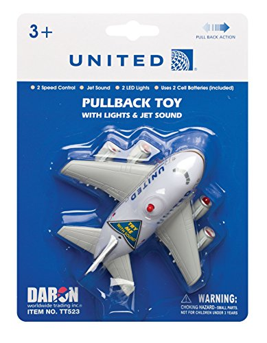 (Daron Post Continental M United Pullback Toy with Light and Sound )