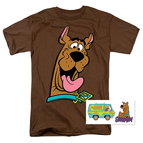 Scooby-Doo Cartoon T Shirt and Stickers Coffee
