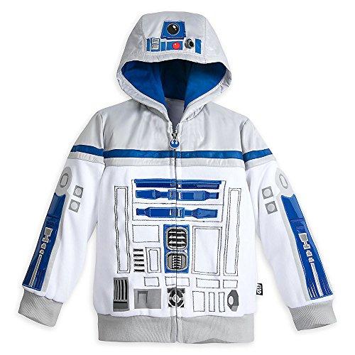 Artoo Costume (Star Wars R2-D2 Costume Hoodie for Boys - Star Wars Size 11/12)