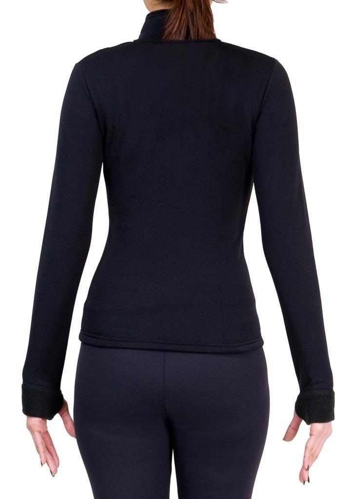 ny2 Sportswear Figure Skating Polartec Polar Fleece Jacket with Rhinestones JR52F