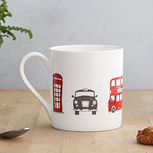 (London Skyline Fine Bone China Mug)
