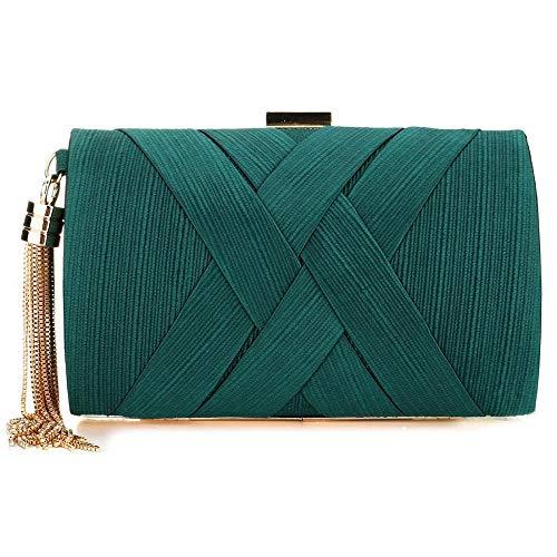 Pourpre pour Vert Unique Femme Pochette Simanli Taille wA5tHq6