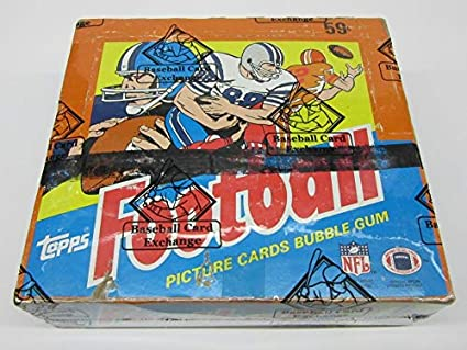 1985 Topps Football Unopened Cello Box Bbce Bbce Wrapped At