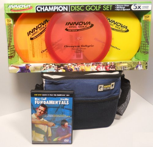 Innova Champion Disc Golf Gift Set - Blue Bag by INNOVA