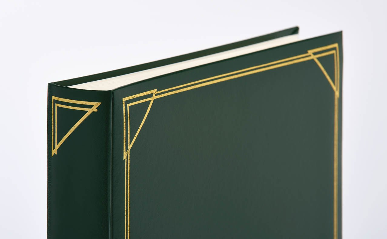 30 x 30 cm walther design MX-200-L Classicalbum Standard blau Fotoalbum