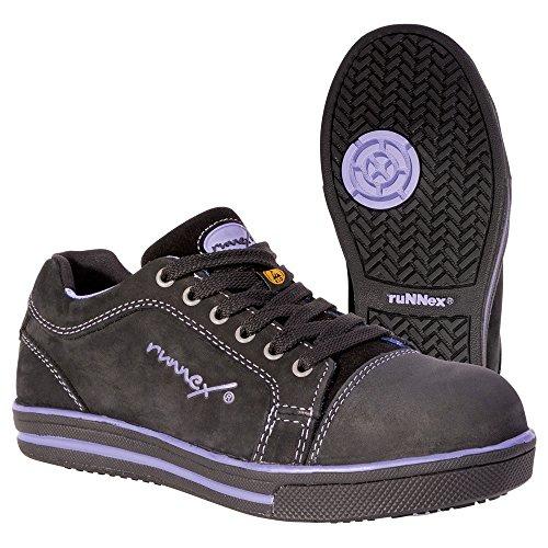 Runnex, 5380, Chaussures De Sécurité Pour Femme Chaussures De Randonnée Légères Stella Esd Pour Femme Taille 36, Noir