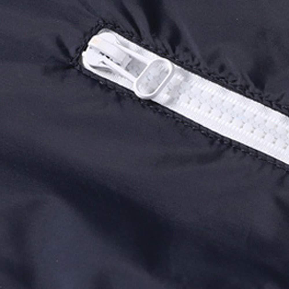 yijiamaoyiyouxia Blouse Mens Casual Outdoor Sportswear Lightweight Jacket Spring Windbreaker Casual Sport Zip Outerwear