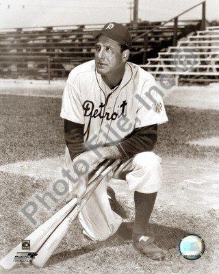 MLB Hank Greenberg Detroit Tigers Photo 8x10