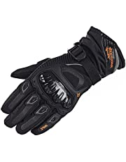 Motorbike Full Finger Motorcycle Gloves, Touch Screen Winter Warm Waterproof Windproof Protective Clothing Gloves for Men and Women