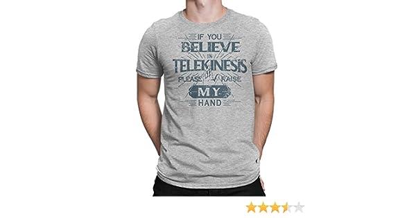 e45c6ba2 Amazon.com: Cellblock 1138 Spiderman: Homecoming Inspired If You Believe in  Telekinesis. Shirt: Clothing