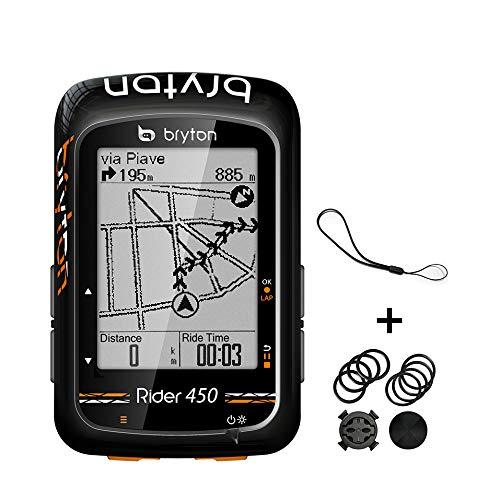 "Bryton Rider 450 GPS Bike Computer (2.3"" Display, 450E - Base Model)"