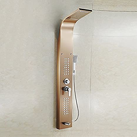Zxy Hogar Baño ZXY Mampara de ducha masaje control de temperatura ...