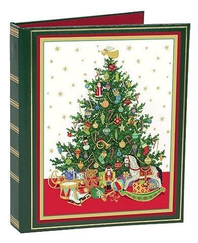 Address Book Christmas Card Address Book List Book for Greeting Cards & Christmas Cards Tree - Christmas Card Address Book