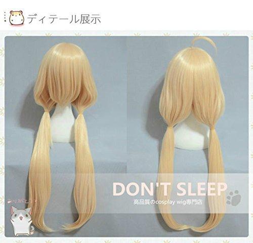 FidgetGear TV Anime Idolm@Ster - Girls futaba anzu Long Cosplay Wigs Hair -