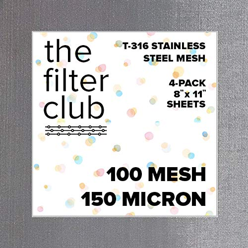 Mesh Stainless Steel 100 - 100 Mesh | T-316 Stainless Steel Woven Wire Mesh | 8