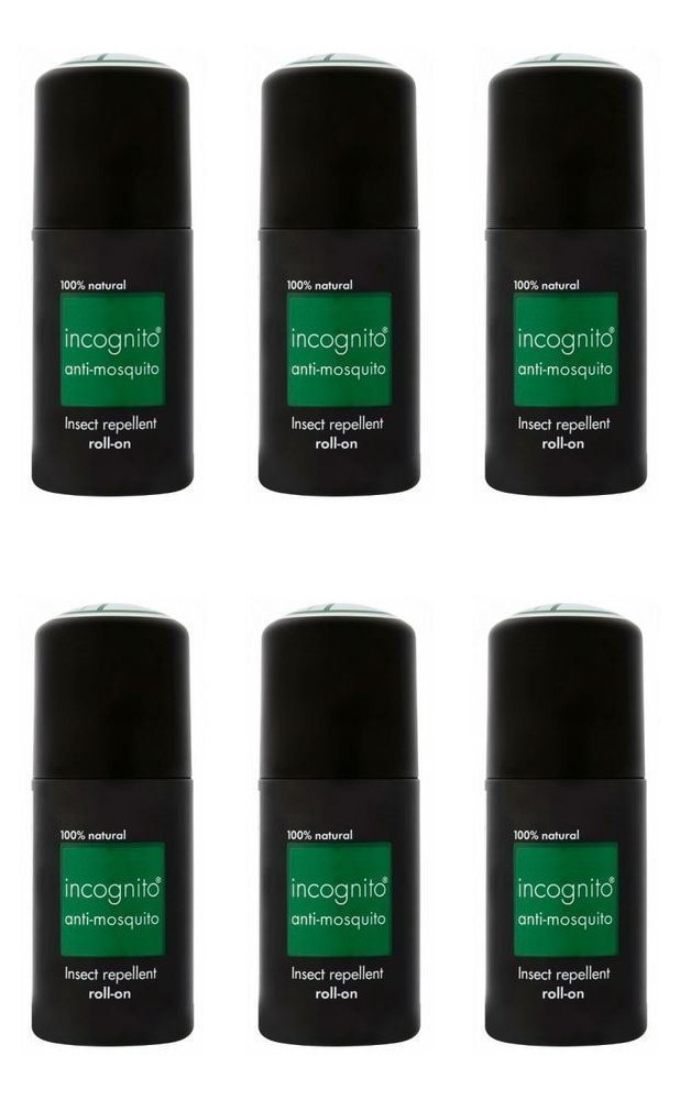 (4 Pack) - Incognito Anti Mosquito Roll On | 50ml | 4 Pack - Super Saver - SA.