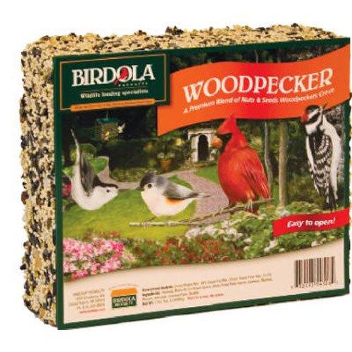 Birdola 54328 Woodpecker Seed Cake, 2 LB 5 ()