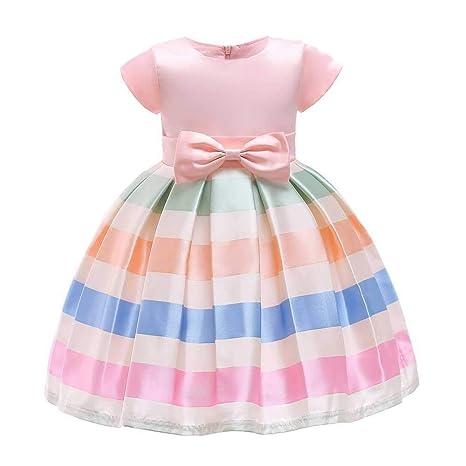 ZSRHH-Falda Vestido de Mujer Niñas Bowknot Princesa Vestido Satén ...