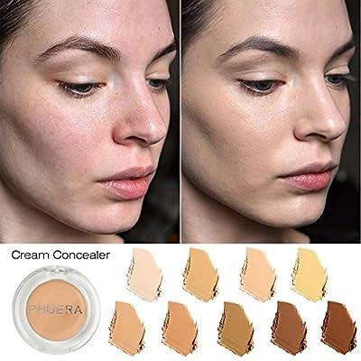 JonerytimePHOERA Face Makeup Concealer Foundation Palette Creamy Moisturizing Concealer