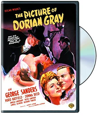 Horror movies Oscar Wilde PICTURE OF DORIAN GRAY 1945 Art Poster Print