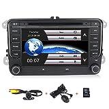 Cheap HD 7 inch Car Stereo GPS DVD Navi 2 Din for VW Jetta Passat Golf Beetle Caddy Tiguan Scirocco Octavia Altea Touran Amarok Car Radio in-Dash DVD