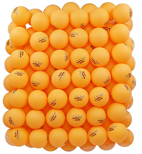 MAPOL 100 Counts 3-Star Orange Practice Ping Pong Balls Advanced Table Tennis Balls