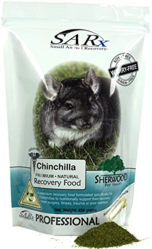 Sherwood Pet Health Recovery Food for Chinchillas, SARx Soy/Grain-Free (Compare to 'Critical Care') (454 Grams)