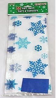 20 bolsas de papel brillantes para navidad de celofán ...