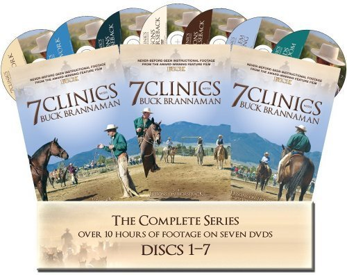 7 Clinics with Buck Brannaman: Complete Set 1-7 by Cedar Creek Productions