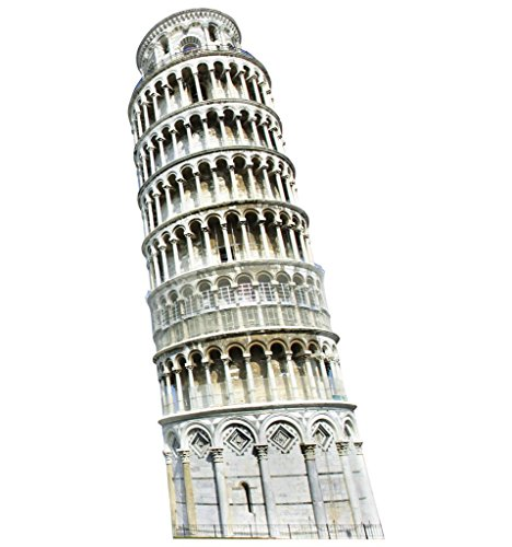 Leaning Tower Of Pisa - Italy Leaning Tower of Pisa - Italy Party Theme - Advanced Graphics Life Size Cardboard Standup