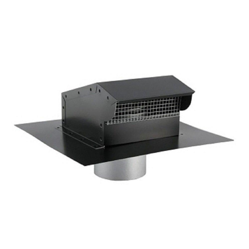 Fantech RC12P Roof Cap, Painted 12'', Black