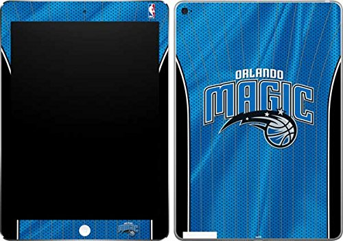 Skinit Orlando Magic Jersey iPad Air 2 Skin - Officially Licensed NBA Tablet Decal - Ultra Thin, Lightweight Vinyl Decal - Magic Orlando Light