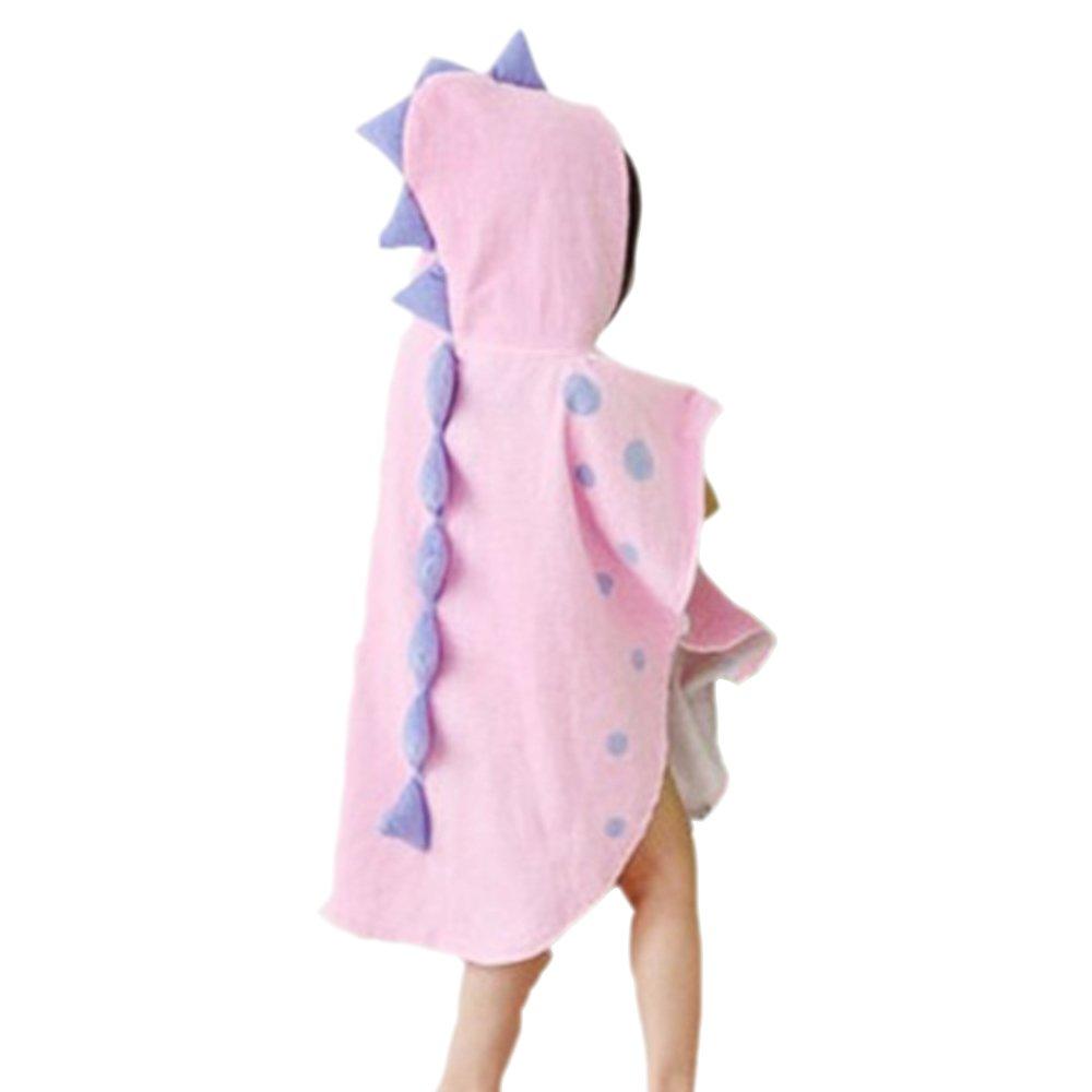 angelo Kailya bambini cappuccio Bagno Asciugamano cartone animato Animale accappatoi cappuccio Nuoto Asciugamano Spiaggia Asciugamano Mantello Design