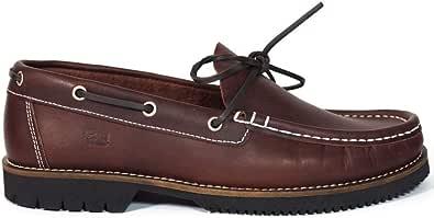 Zapatos para Hombre Fabricados en Piel Náuticos Fluchos 156 Burdeos