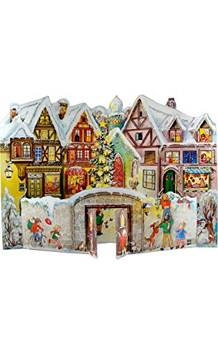 (Alexander Taron Importer ADV555 Sellmer Advent-Village with Kids-14.75