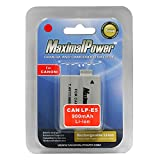 Maximal Power DB CAN LP-E5 Replacement Battery for Canon Digital Camera/Camcorder (Ivory)