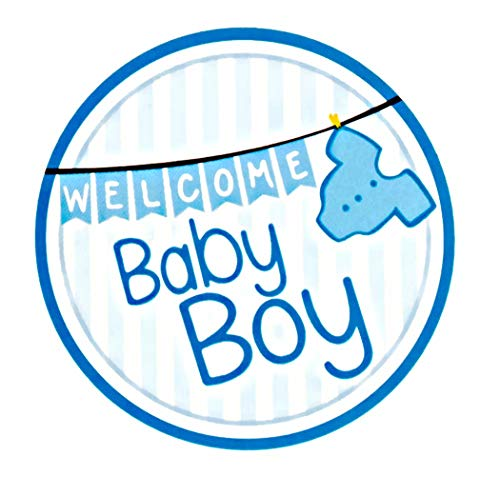 Mikie S Craft Inc Baby Shower Stickers It S A Boy Girl Welcome