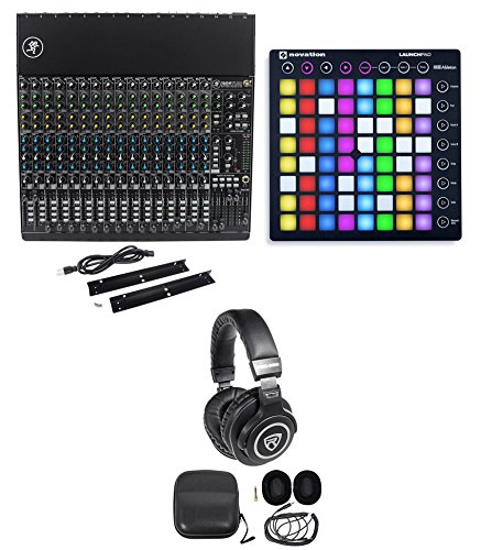 Mackie 1604VLZ4 Analog Low-Noise Mixer w/16 ONYX Preamps+Launchpad+Headphones