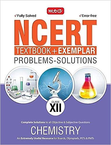 NCERT Exercises + Exemplar Solutions Chemistry - Class 12