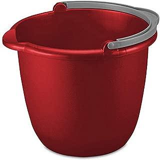 product image for Sterilite 11205812 10QT RED Spout Pail, 10 Quart
