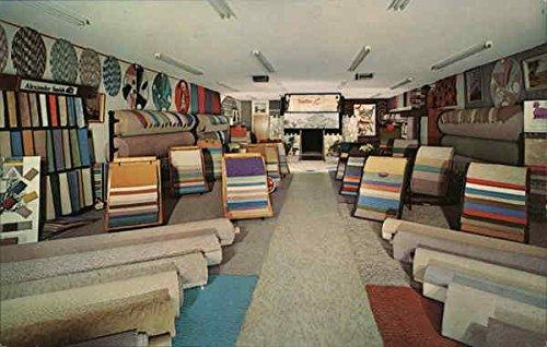 London Carpets, 152 Sherman Way at Sepulveda Blvd. Van Nuys, California Original Vintage -