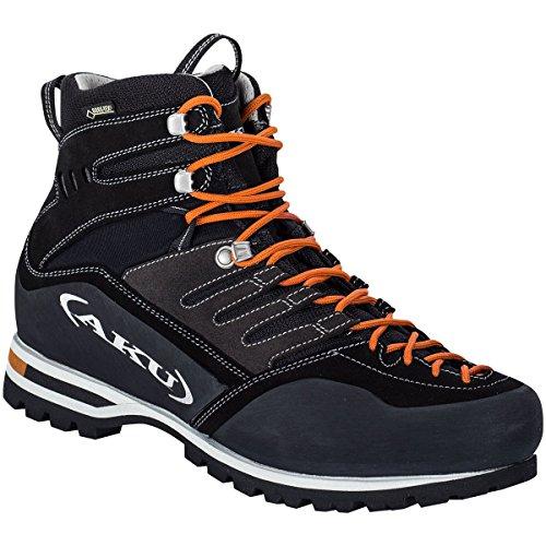 Aku Viaz GTX 598-052, escursionistica para férreas Zapatillas para hombre negro