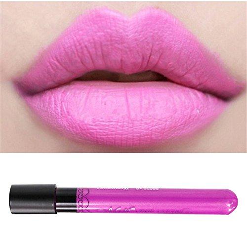 MEXI Waterproof lipgloss velvet matte lipstick 11 colors vitality cerise star