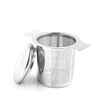 Xloey Stainless Steel Fine Mesh Tea Infuser