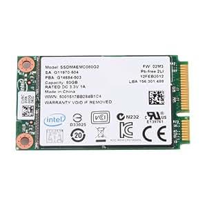 Intel 310 Series 80GB mSATA Solid State Drive SSDMAEMC080G2C1