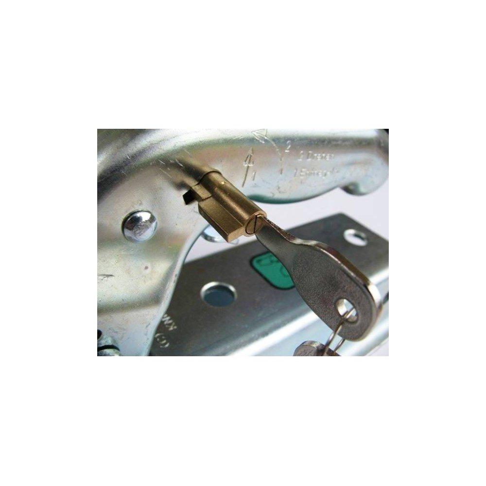 Winterhoff - Cerradura antirrobo para Remolque 109
