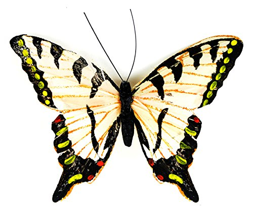 (Touch of Nature 24181 Yellow Swallowtail, 4-1/2-Inch, Light Yellow)